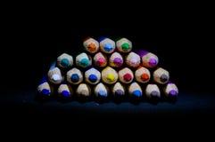 Σωρός των όμορφων χρωμάτων Στοκ Εικόνες