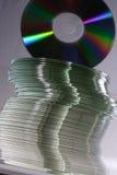 σωρός των CD στοκ εικόνες με δικαίωμα ελεύθερης χρήσης