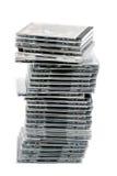 σωρός των CD Στοκ Εικόνα