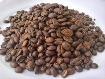 Σωρός φασολιών καφέ Στοκ Εικόνα