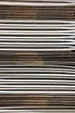 σωρός χαρτονιού κιβωτίων Στοκ Φωτογραφία