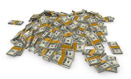 σωρός χρημάτων Στοκ φωτογραφία με δικαίωμα ελεύθερης χρήσης