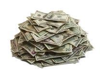 Σωρός χρημάτων στοκ φωτογραφίες με δικαίωμα ελεύθερης χρήσης