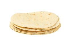 Σωρός tortillas Στοκ Φωτογραφία