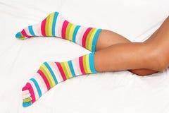 σωστές κάλτσες Στοκ Εικόνες