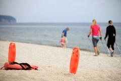 Σωστικά μέσα παραλιών Lifeguard Στοκ φωτογραφία με δικαίωμα ελεύθερης χρήσης