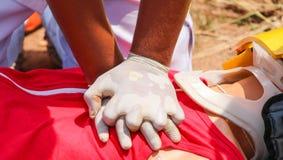 Σωτήρας CPR Στοκ Φωτογραφία
