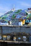 σωτηρία χρωμάτων βουνών Στοκ Φωτογραφία