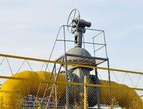 Σωλήνας αερίου βαλβίδων Στοκ Φωτογραφία