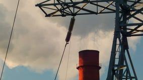 Σωλήνας εργοστασίων απόθεμα βίντεο