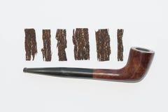 Σωλήνας και καπνός Στοκ Εικόνες
