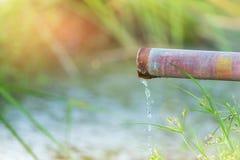 Σωλήνας μετάλλων νερού Στοκ φωτογραφίες με δικαίωμα ελεύθερης χρήσης