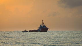 Σωλήνας μεταφοράς σκαφών Στοκ Φωτογραφία