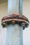 Σωλήνας σκουριάς Στοκ Φωτογραφία