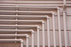 Σωλήνες αερίου χάλυβα Στοκ Εικόνες