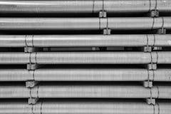 Σωλήνες αργιλίου ως πρώτη ύλη Στοκ Φωτογραφίες