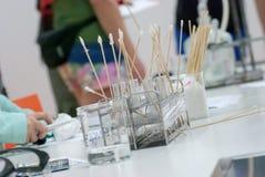 Σωλήνες δοκιμής χημείας Στοκ εικόνες με δικαίωμα ελεύθερης χρήσης