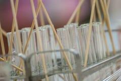 Σωλήνες δοκιμής χημείας Στοκ φωτογραφία με δικαίωμα ελεύθερης χρήσης