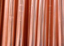 Σωλήνες χαλκού Στοκ Φωτογραφία