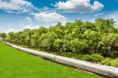 Σωλήνωση πετρελαίου στοκ φωτογραφία