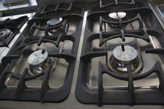 Σόμπα αερίου για την επαγγελματική χρήση κουζινών Στοκ Φωτογραφίες