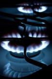 σόμπα αερίου φλογών Στοκ Εικόνα