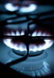 σόμπα αερίου φλογών Στοκ Εικόνες