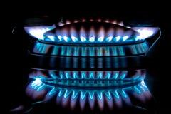 σόμπα metano φλογών Στοκ φωτογραφία με δικαίωμα ελεύθερης χρήσης