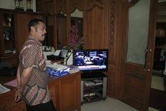 Σόλο δήμαρχος και Πρόεδρος αριθμού της Ινδονησίας, Joko Widodo Στοκ εικόνα με δικαίωμα ελεύθερης χρήσης