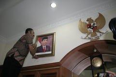 Σόλο δήμαρχος και Πρόεδρος αριθμού της Ινδονησίας, Joko Widodo Στοκ Εικόνες