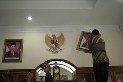 Σόλο δήμαρχος και Πρόεδρος αριθμού της Ινδονησίας, Joko Widodo Στοκ εικόνες με δικαίωμα ελεύθερης χρήσης