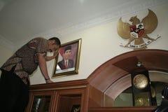 Σόλο δήμαρχος και Πρόεδρος αριθμού της Ινδονησίας, Joko Widodo Στοκ φωτογραφίες με δικαίωμα ελεύθερης χρήσης