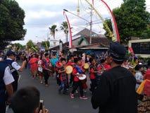 Σόλο πολιτισμός καρναβαλιού μπατίκ στοκ φωτογραφία