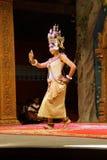 Σόλο χορευτής Apsara Στοκ φωτογραφία με δικαίωμα ελεύθερης χρήσης