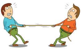 Σύγκρουση Στοκ Εικόνα