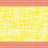Σύγχρονα δονούμενα σύνορα μέσα με τις γραμμές βελονιών και τη διαφανή επίδραση υδατοχρώματος Διανυσματικό άνευ ραφής σχέδιο σε κί διανυσματική απεικόνιση
