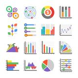 Σύγχρονα επίπεδα εικονίδια Infographics Διανυσματική απεικόνιση