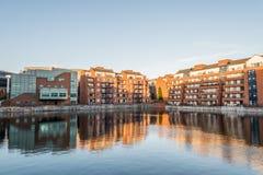 Σύγχρονα διαμερίσματα στο Δουβλίνο Στοκ φωτογραφία με δικαίωμα ελεύθερης χρήσης