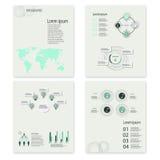 Σύγχρονα διανυσματικά αφηρημένα infographic στοιχεία Στοκ εικόνα με δικαίωμα ελεύθερης χρήσης