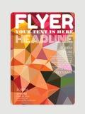 Σύγχρονα ιπτάμενα, φυλλάδια Αφηρημένα υπόβαθρα, on-line Στοκ εικόνες με δικαίωμα ελεύθερης χρήσης