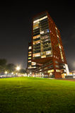 Σύγχρονα κατοικημένα κτήρια διαμερισμάτων στοκ εικόνες