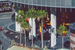 Σύγχρονα κτήρια πολυόροφων κτιρίων στην κεντρική επιχείρηση Districy ν του Σίδνεϊ Στοκ Εικόνες