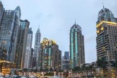 Σύγχρονα κτήρια σε μια πόλη στοκ εικόνα