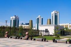 Σύγχρονα κτήρια σε Astana Kazakhsatan Στοκ φωτογραφίες με δικαίωμα ελεύθερης χρήσης