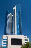 Σύγχρονα κτήρια σε Astana Kazakhsatan Στοκ Εικόνα