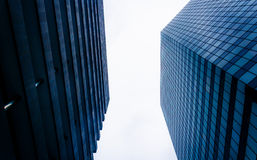 Σύγχρονα κτήρια σε Plaza Hopkin, Βαλτιμόρη, Μέρυλαντ Στοκ Φωτογραφία