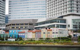 Σύγχρονα κτήρια σε Yokohama, Ιαπωνία Στοκ εικόνες με δικαίωμα ελεύθερης χρήσης