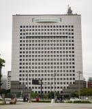 Σύγχρονα κτήρια σε Yokohama, Ιαπωνία Στοκ Εικόνα