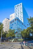 Σύγχρονα κτήρια στη Βαρκελώνη Στοκ φωτογραφία με δικαίωμα ελεύθερης χρήσης