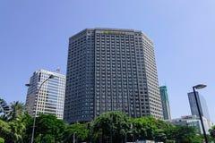 Σύγχρονα κτήρια στη Μανίλα, Φιλιππίνες Στοκ φωτογραφία με δικαίωμα ελεύθερης χρήσης